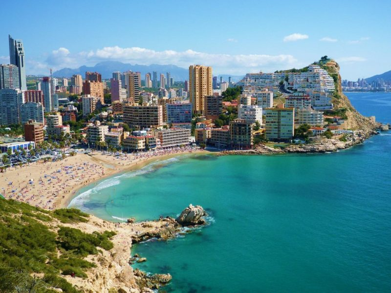 Guide to the beaches of Benidorm
